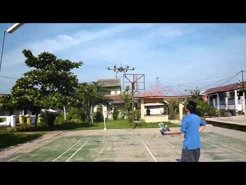 [Test] Dji Naza GPS Turnigy Propeller 13x4.5 wooden