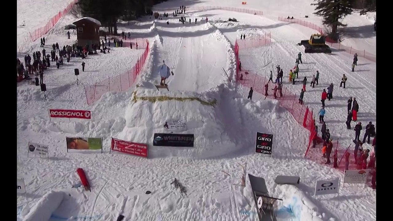 2013 Dummy Derby at Whitefish Resort with Multirotors