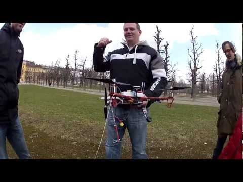 Epic FPV rescue of a quadcopter