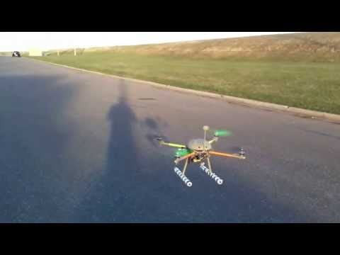 PVC arducopter 2.9.1b with arduflyer 2.5