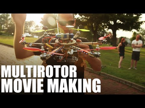 Flite Test - Multirotor Movie Making & APM to the rescue!