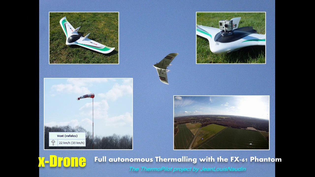 FX-61 Phantom THERMAL SCAN test flight with the ThermoPilot v7.2