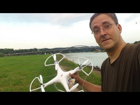 DJI Phantom Crash