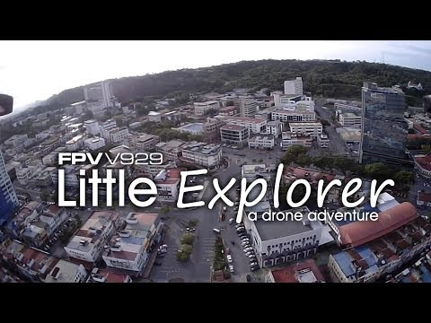 FPV 80 gram mini quad V929 - Little Explorer