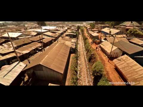 Flying around the largest urban slum in Africa