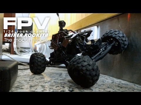 Fun FPV rover  - Modern jungle adventures