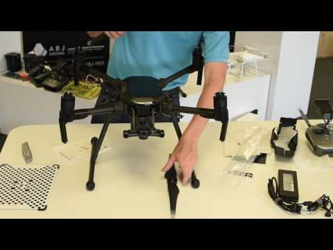 Assembling the DJI Matrice 200 (M200) for Flight - ABJ Drones