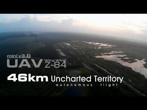 46km Uncharted Territory - UAV Wing Wing Z-84 V3.0