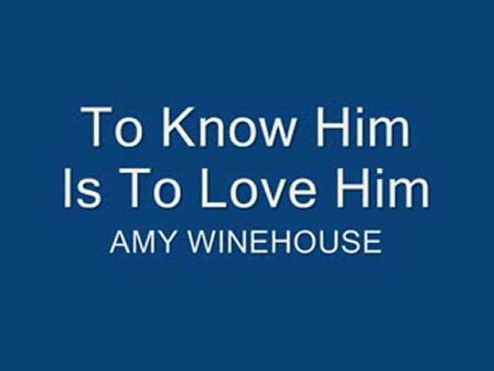 To Know Him is To love him español de amy winehouse