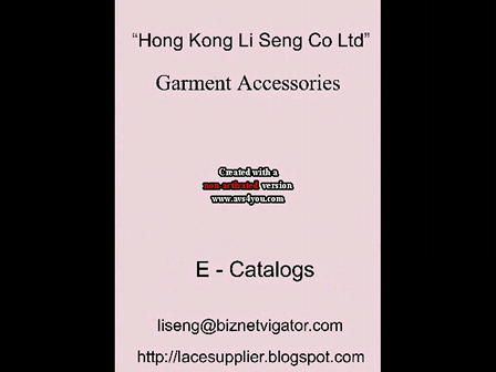 Garment Accessories Supplier - Hong Kong Li Seng Co Ltd