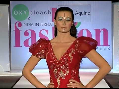 Andres Aquino India Intl Fashion Week.mov