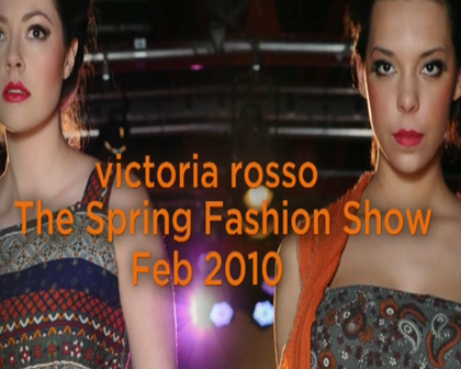 victoria rosso at The Spring Fashion Show 2010