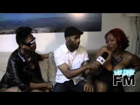 """We Live FM All Access :: Damian Behind The Scenes Of Mr. Lexx """"Let It Pop"""" Music Video (PART 2)"""