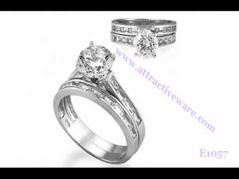 Fine Silver Wedding Rings