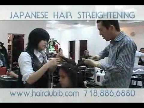 Japanese Hair Straightening Processing