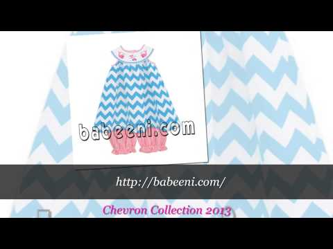Chevron Collection 2013, if you are happy when you know it, baby smocked outfits