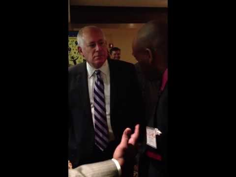 Illinois Governor Pat Quinn & J. Alexander Martin #Fubu Pat Quinn (For Us By Us) plug #NBCC