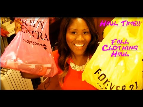 Haul Time! Fall 2013 Shopping / Clothing Haul - Items From Forever 21, Body Central, etc