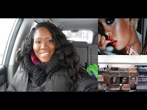 Vlog #2 Shopping Day, Mac Store Mac RiRi Holiday 2013 Collection, Sephora, and Finding My Bday Dress
