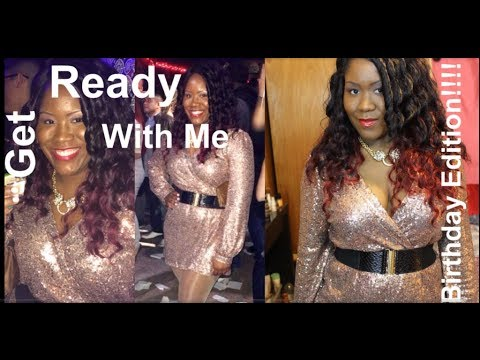 Get Ready With Me - Golden Birthday Celebration With Pics