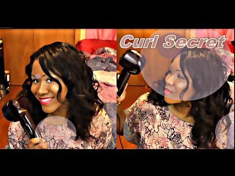 Conair Infiniti Pro Curl Secret Review + Demo - How To Get Perfect Curls With Curl Secret