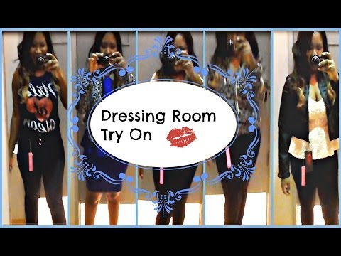 2014 Spring Fashion Trends - Dark Hues - Dressing Room Try On Charlotte Russe