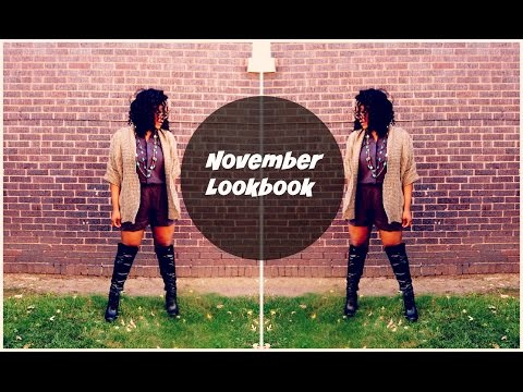 November Lookbook - Outfit Ideas For Chicks With Curves