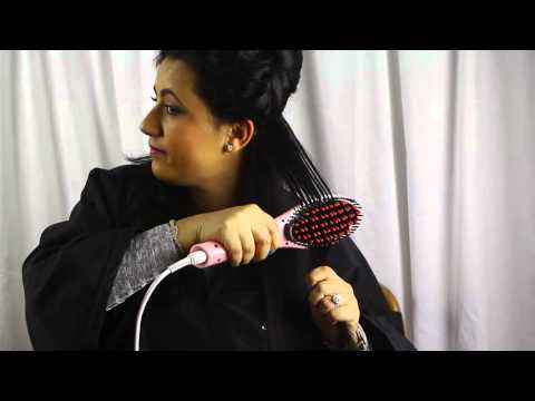 Fast Hair Brush Straightener - Hair Bar NYC