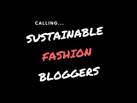Link building (SEO) opportunity for Sustainable Fashion Bloggers