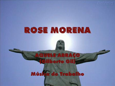 AQUELE ABRAÇO (Gilberto Gil)