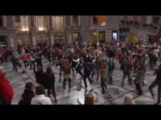 Central Station Antwerpen gaat uit zijn dak!