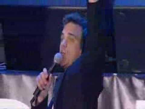 Robbie Williams Angel live