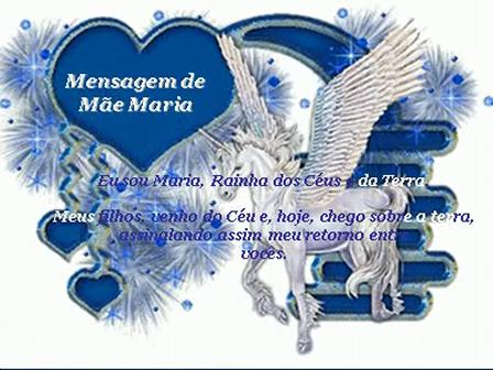 Mensagem de Mãe Maria