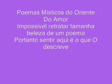 Do Amor - Gibran