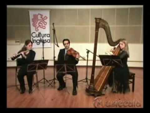 Jesus Alegria dos Homens-BACH(harpa, violino e flauta)