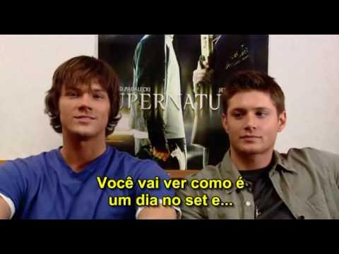 Supernatural - Um Dia Na Vida de Jared e Jensen [Bonus DVD Season 1]
