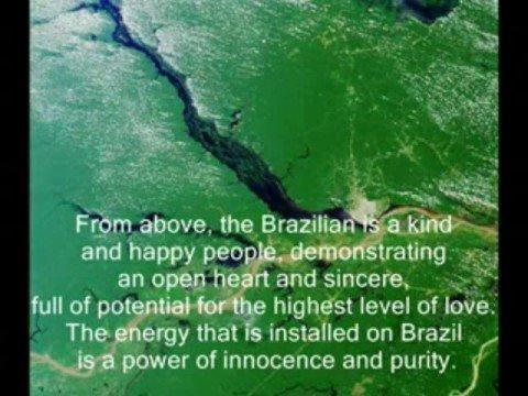 """BRASIL. O PAÍS DO FUTURO.  MENSAGEM  DE JOAHDI . PARTE 1 """"LIVRO 2012 A ERA DE OURO"""""""