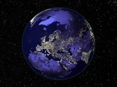 PLANETA TERRA VISTO PELOS SATÉLITES DA NASA