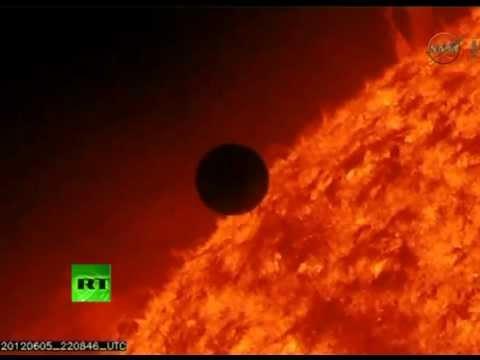 Amazing video: Transit of Venus across the Sun 2012