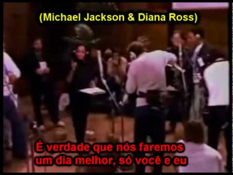 USA for Africa - We are the world (Legendado PT) HQ Michael Jackson