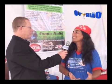 Janna Kalid na Fenicafé Programa Opinião