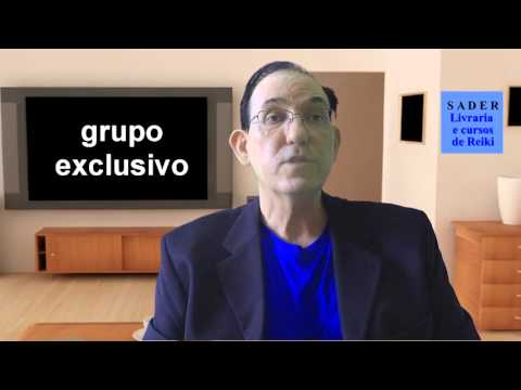 Vídeo Convite cursos de Reiki