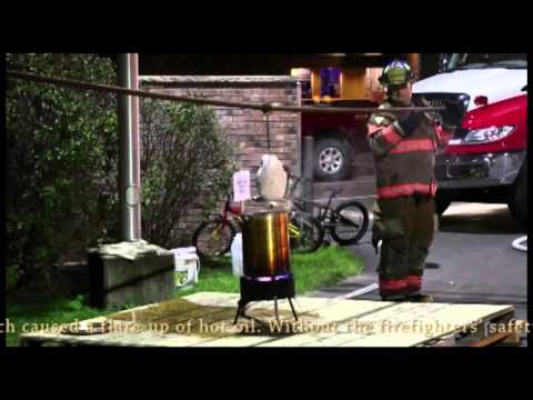Plover FD Presents: How Not to Deep Fry a Turkey