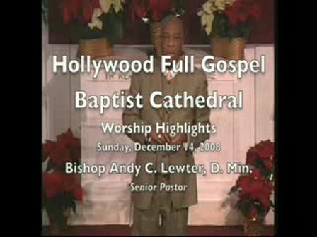 Worship Highlights of Sunday 12-14-08