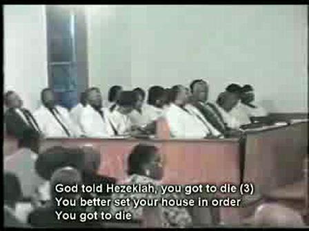 Hezekiah You Got to Die