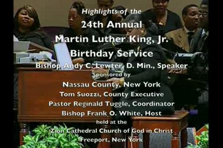 Martin Luther King Birthday Program