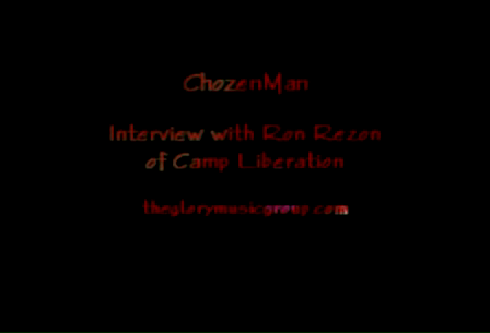 ChozenMan Interview with RonRezon