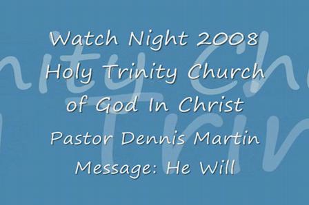 Watch Night 2008