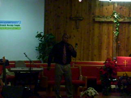 Pastor Terrence Cole