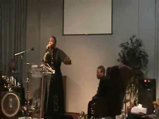 Pastor Jay D. Baker preaching